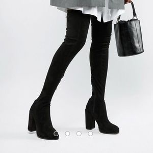 ASOS kassidy thigh high boots